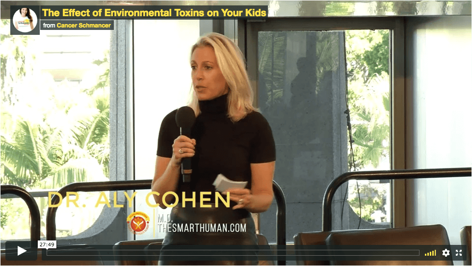 ENVIRONMENTAL TOXINS' EFFECT ON KIDS AND ADULTS with Dr. Aly Cohen