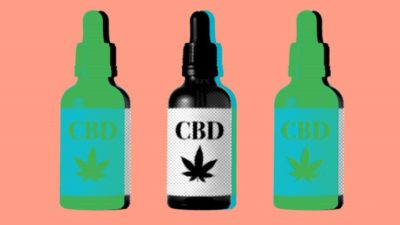 Among the many CBD oil products now available are under-the-tongue drops. Alamy